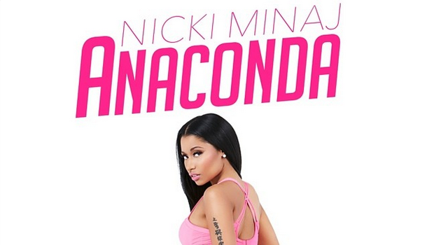 [Booty & Beauty] Nicki Minaj Drops Seductive 'Anaconda' Single Cover