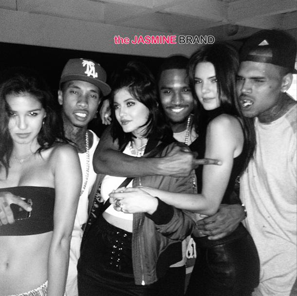 House Party Fun Chris Brown, Trey Songz, Kendall  Kylie Jenner - Page 2 Of 2 -1559