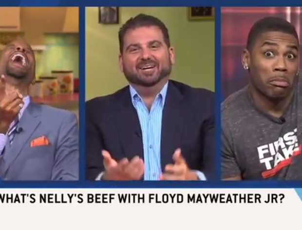 [WATCH] Nelly Takes Shots At Floyd Mayweather During ESPN Interview: He Hasn't Even Graduated High School!