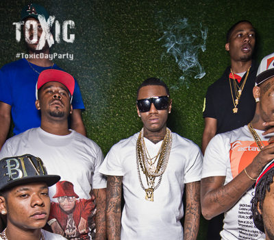 Soulja Boy Joins Love & Hip Hop Hollywood? AJ Green, Brandon Jennings, Eva Marcille Hit 'Toxic Day Party'