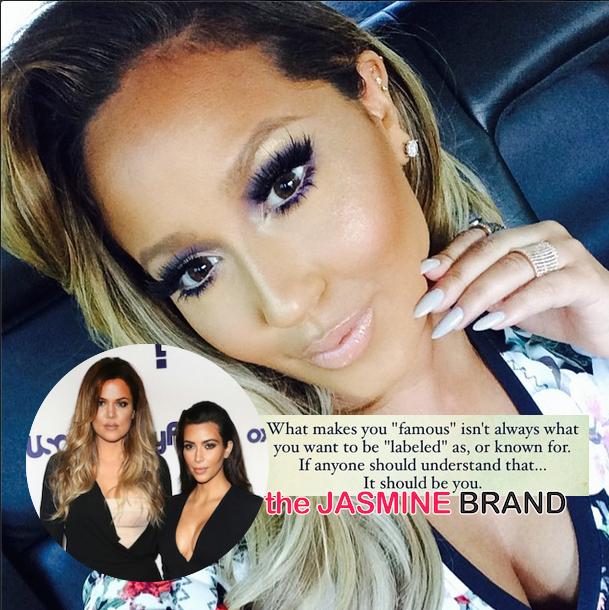 Adrienne Bailon Tells Kim Kardashian: 'Fame & A Career Are