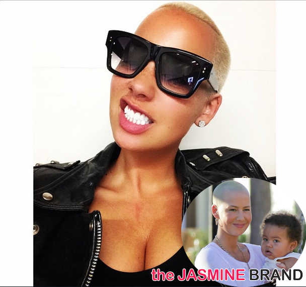 [VIDEO] Amber Rose's Biggest Fear Is That Her Son Will Be Cyber Bullied: People Are VERY Mean