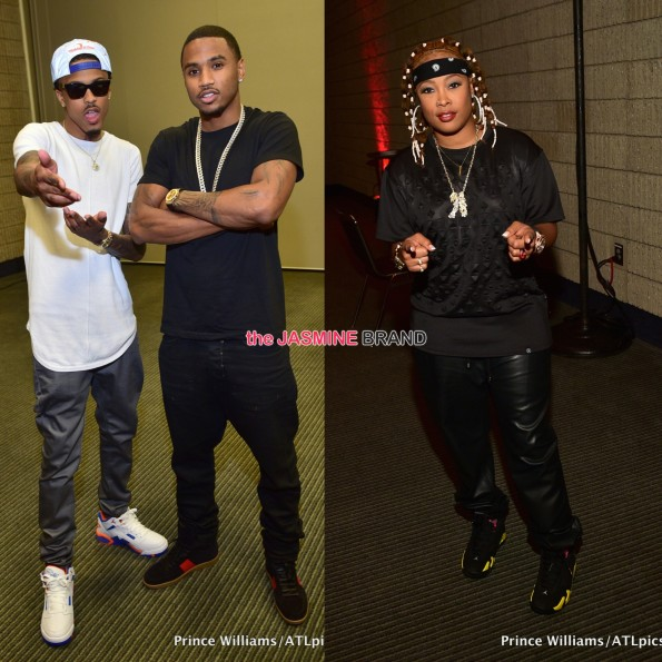 august alsina-da brat v103 car and bike show 2014 the jasmine brand