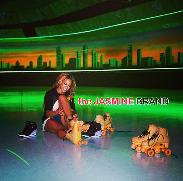 Werk Hard, Play Hard: Beyonce Takes Her Dancers Roller Skating