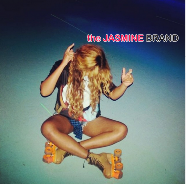 beyonce roller skating on the run tour houston the jasmine brand