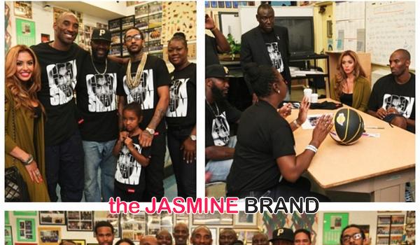 Travyvon Martin's Parents Host Peace Talk & Brunch With Kobe Bryant, Jurnee Smollett-Bell & Nipsey Hussle