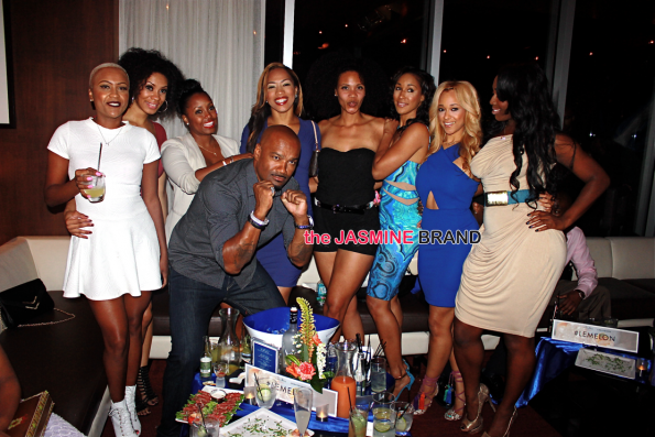 big tigger and keshia knight pulliam -Joseline and Stevie J hernandez attend Greygoose launch for new flavored vodka Le Melon the jasmine brand