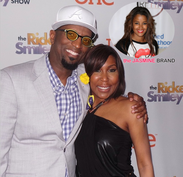 claudia jordan to replace ebony steele on the rickey smiley morning show the jasmine brand