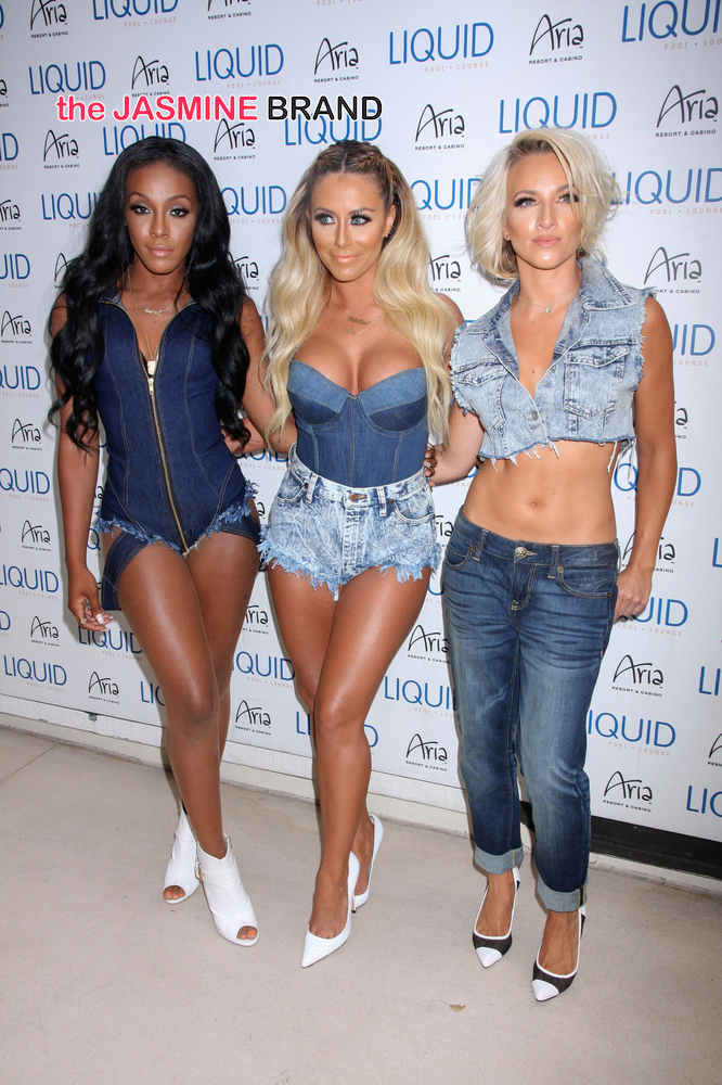 Danity Kane in Concert at Liquid Pool in Las Vegas - July 19, 2014