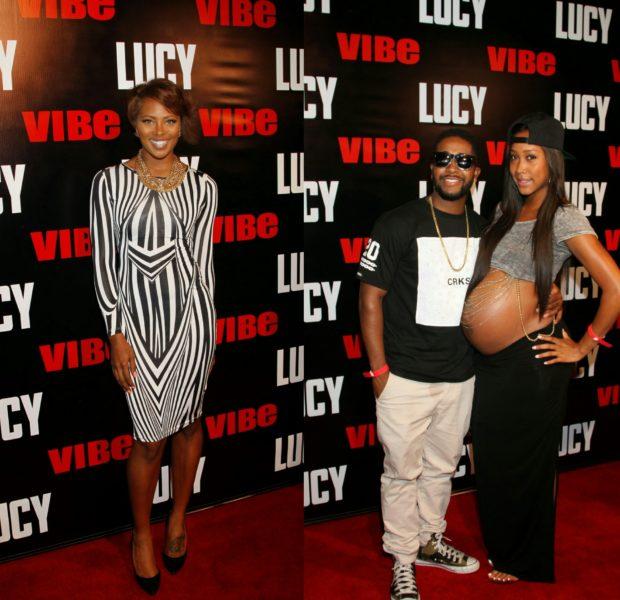 [Photos] Eva Marcille, Omarion & Kyla Pratt Spotted At 'LUCY' Premiere in LA
