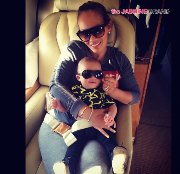 evelyn lozada private jet with son the jasmine brand