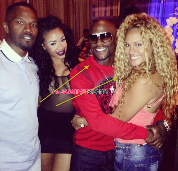James Harden And Ashanti: Cup Cakin' Alert: Does Floyd Mayweather Have A New