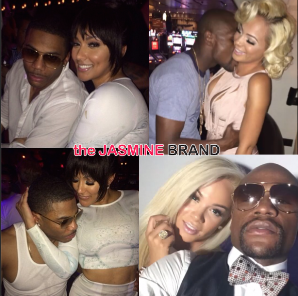 floyd mayweather declares love for girlfriend bad medina-shantel jackson gushes about boyfriend nelly the jasmine brand