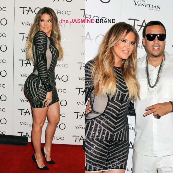 french montana and khloe kardashian 30th birthday party las vegas tao night club 2014 the jasmine brand