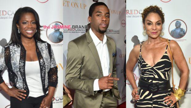 'Get On Up' Atlanta Movie Premiere: Chadwick Boseman, Octavia Spencer, Jasmine Guy, Kandi Burruss Attend
