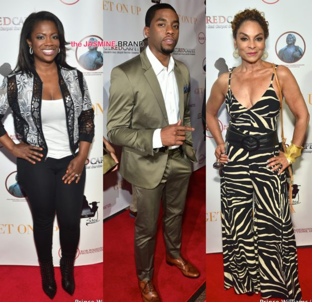 'Get On Up' Atlanta Movie Premiere: Chadwick Boseman, Octavia Spencer, Jasmine Guy, Kandi Burruss Attend
