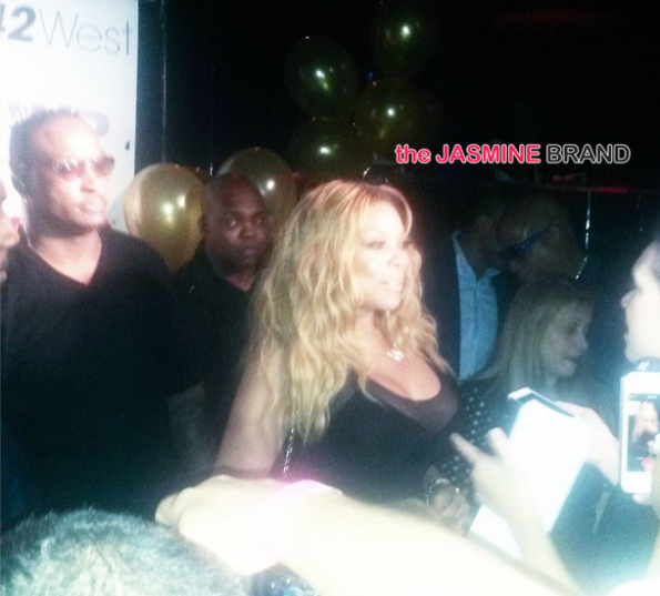 guests wendy williams 50th birthday party nyc the jasmine brand