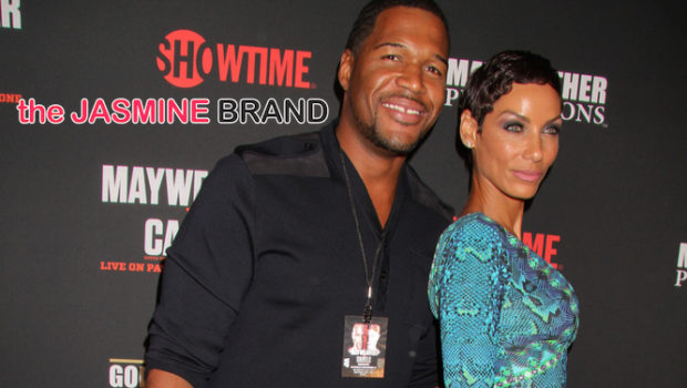 [INTERVIEW] Exclusive: Nicole Murphy On Why Fiancé Michael Strahan Stays Off 'Hollywood Exes' + Does She Feel Pressured to Get Married?