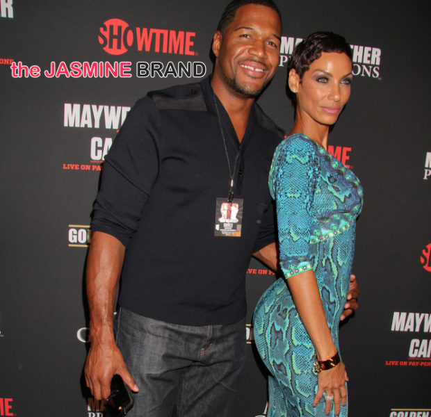 "Nicole Murphy Reacts to Ex-fiancé Michael Strahan's news, ""I think it's great."""