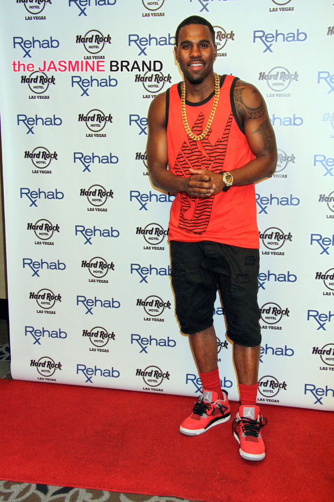 Jason Derulo Hosts Rehab Pool and Dayclub in Las Vegas on July 20, 2014