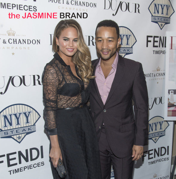 Chrissy Teigen & John Legend Are Having A Baby! [Ovary Hustlin']
