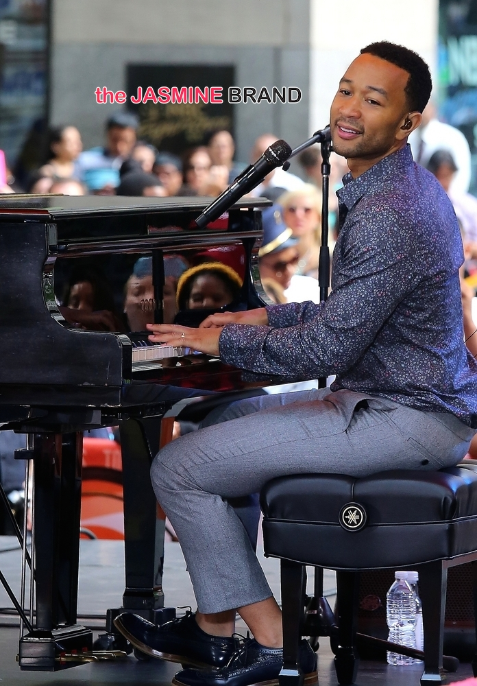 "John Legend in Concert on NBC's ""Today Show"" at Rockefeller Center in New York City - July 10, 2014"