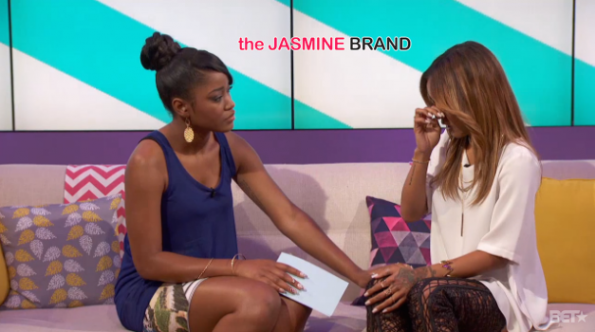 karrueche tran gets emotional discusses relationship with chris brown on just keke the jasmine brand