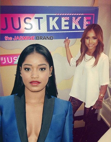 KeKe Palmer Defends Herself, After Overwhelming Attack by Rihanna Fans Over Karrueche Interview