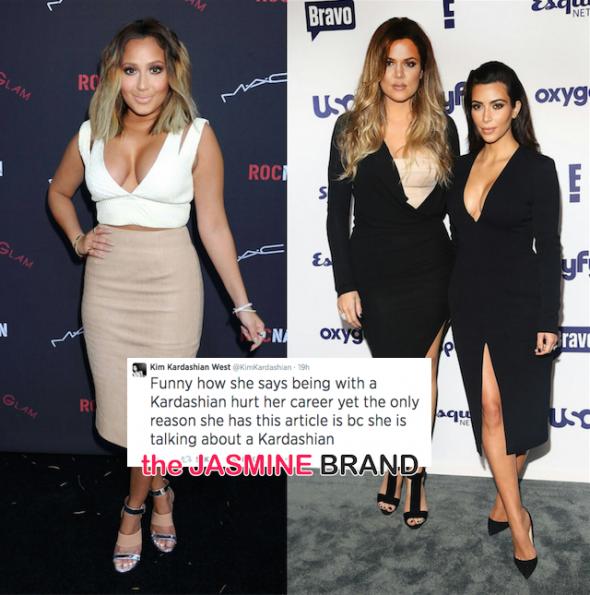 kim kardashian and khloe defend rob against adrienne bailon-latina interview the jasmine brand