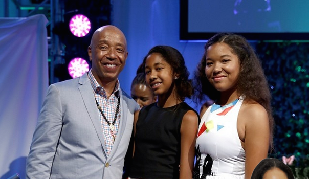 Kimora Lee Simmons Donates $1 Million to Russell Simmons' 'Art For Life'! See the Photos