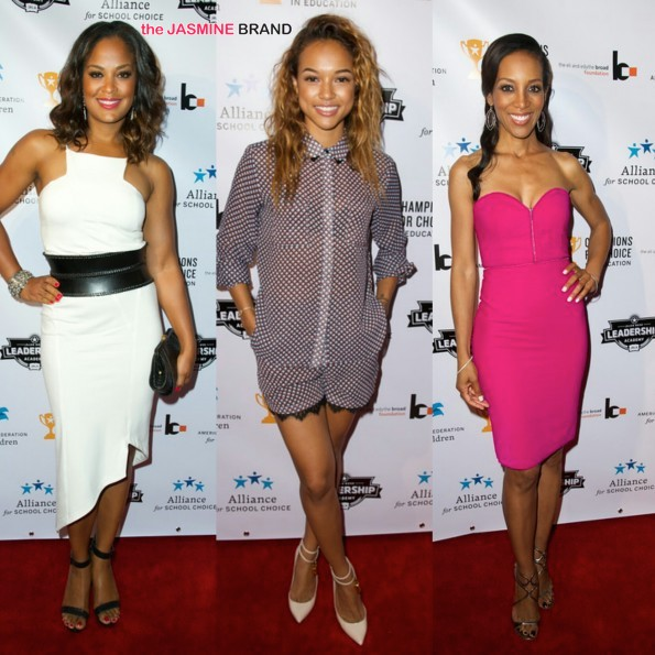 Lisa Leslie & Jalen Rose Host Pre-ESPY 3rd Annual 'Champions for Choice' Event: Karrueche Tran, Kelly Price, Nicole Murphy & More Attend
