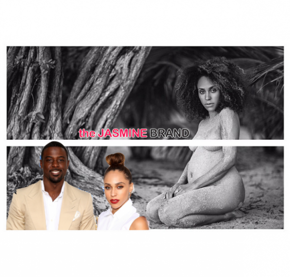 lance gross announces girlfriend rebecca pregnant the jasmine brand