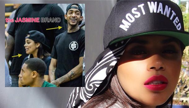 Cup Cakin' Alert: Lauren London Has Found Love With Rapper Nipsey Hussle