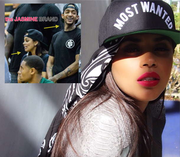 Cup Cakin' Alert: Lauren London Has Found Love With Rapper Nipsey Hussle