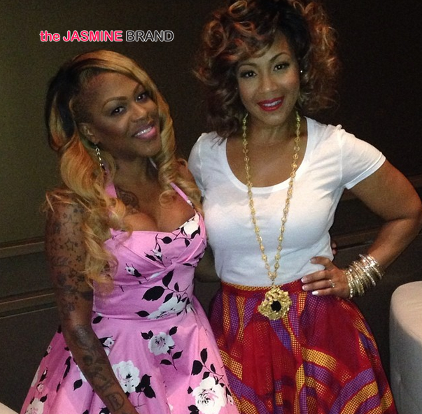 lil mo and erica campbelle essence festival 2014 the jasmine brand