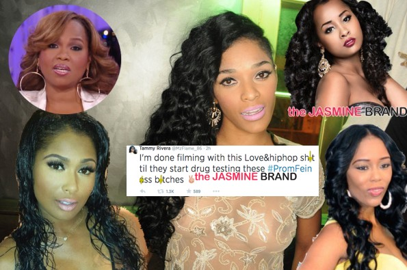 [VIDEO] Brawl Erupts During Love Hip Hop Atlanta Reunion, Tammy Rivera Quits Show