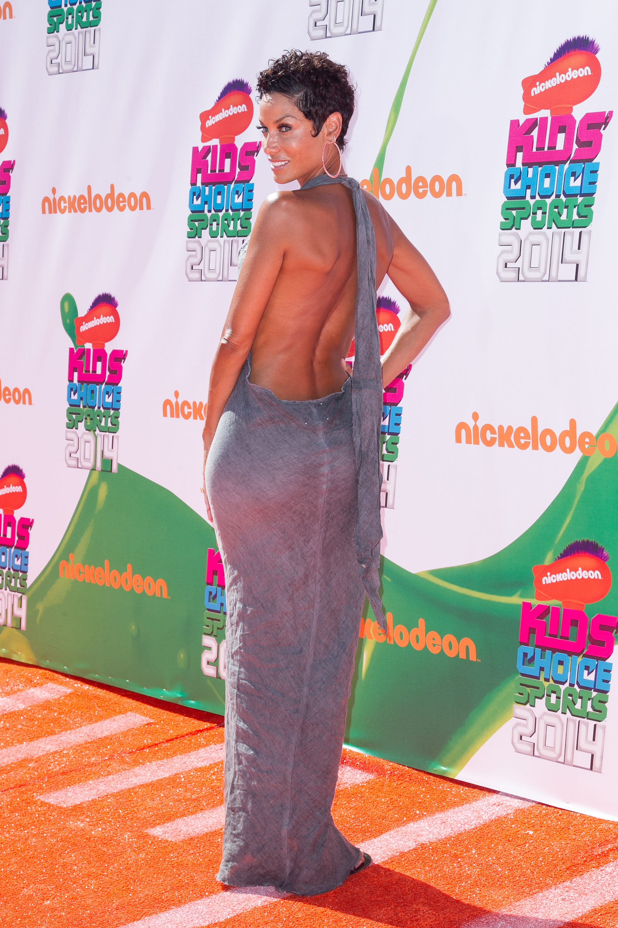 Nicole Murphy attends the Nickelodeon 'Kids' Choice Sports' Awards 2014