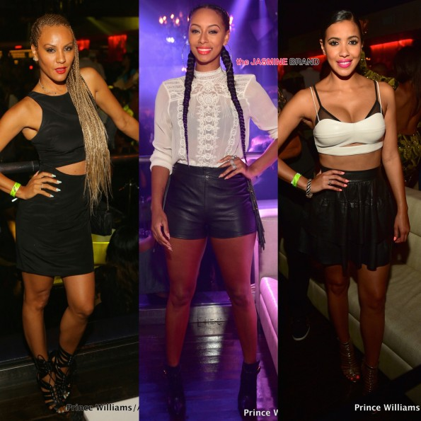nikki chu keri hilson and julissa bermudez party in atlanta the jasmine brand