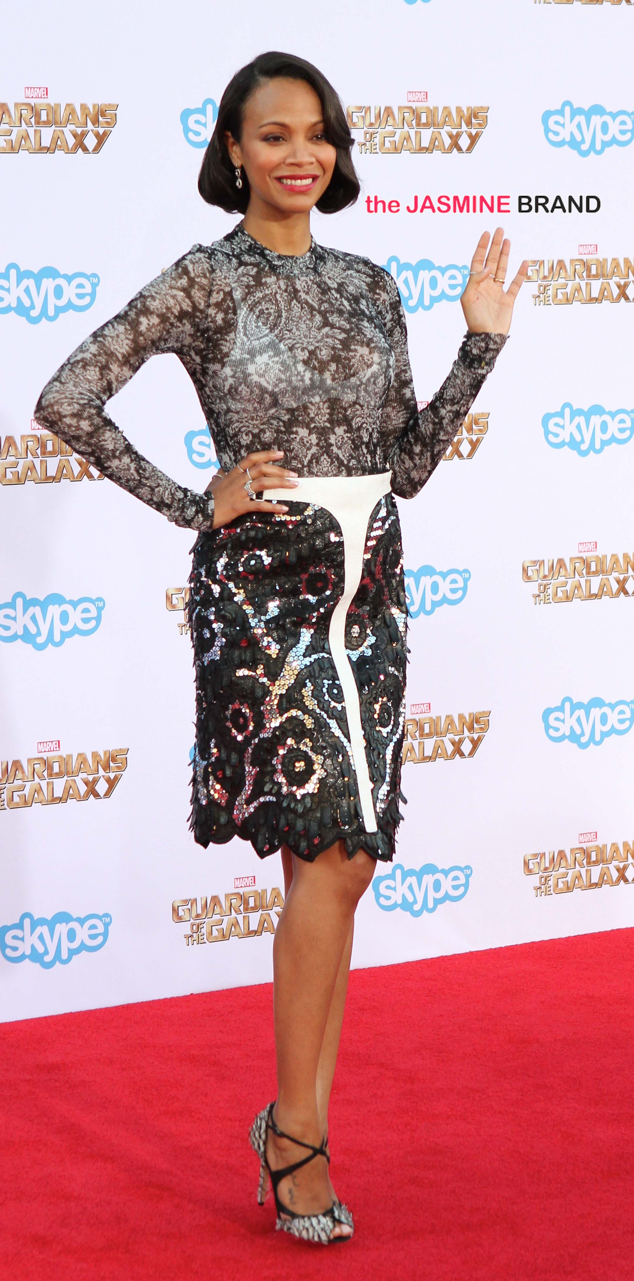 Celebrities attend the 'Guardians Of The Galaxy' premiere at the El Capitan Theatre in Hollywood, CA