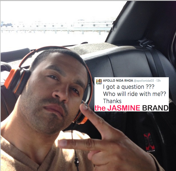 Trouble In Paradise? Read Apollo Nida's Post Jail Sentence Tweet