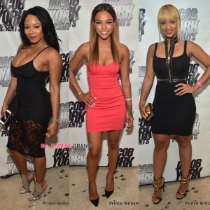 sheneka adams karrueche and tiffany fox party at atlanta prive the jasmine brand