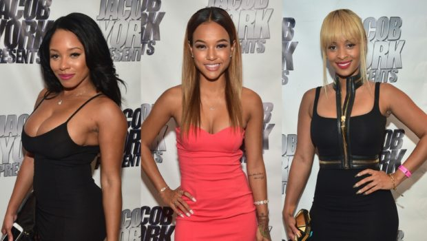 Karrueche, Tiffany Foxx & Sheneka Adams Party At ATL's Prive
