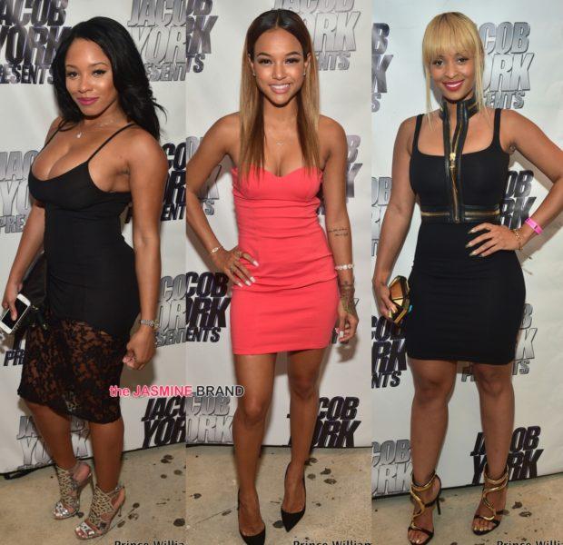 Karrueche, Tiffany Foxx & Sheneka Adams Party At ATL's Prive