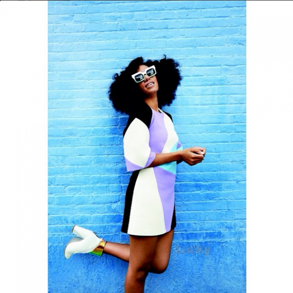solange knowles lucky magazine spread august 2014 issue the jasmine brand