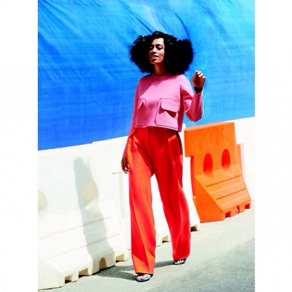solange knowles lucky magazine spread the jasmine brand