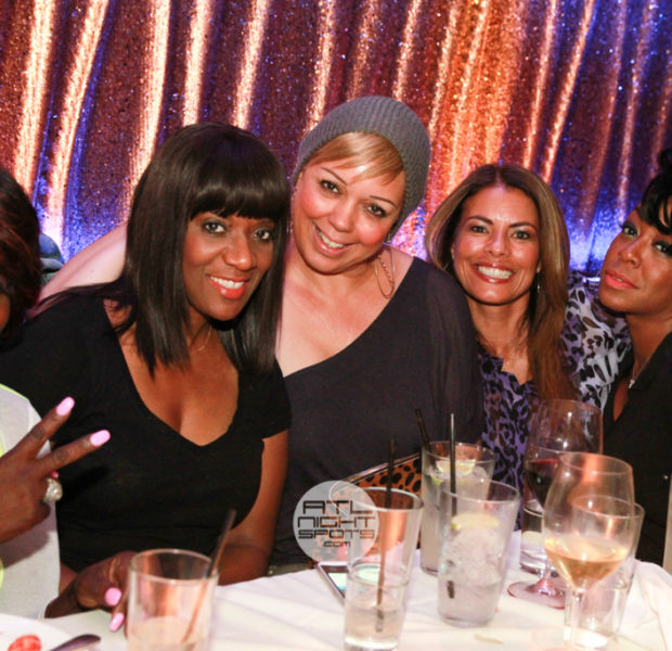 [Photos] Tichina Arnold Celebrates Her Birthday With Slimmer Angie Stone