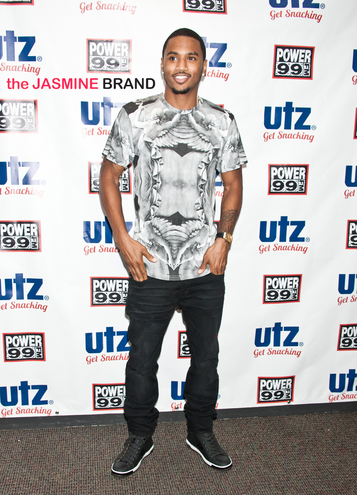 Trey Songz Visits Power 99's Performance Theatre in Bala Cynwyd - July 07, 2014