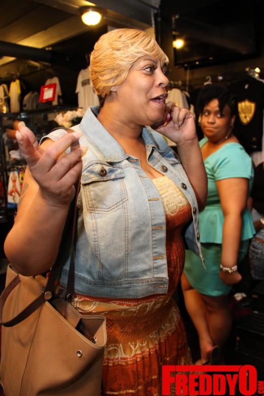 waka flockas mother deb antney LHHA Rasheeda Pop Up Shop Event 2014 the jasmine brand
