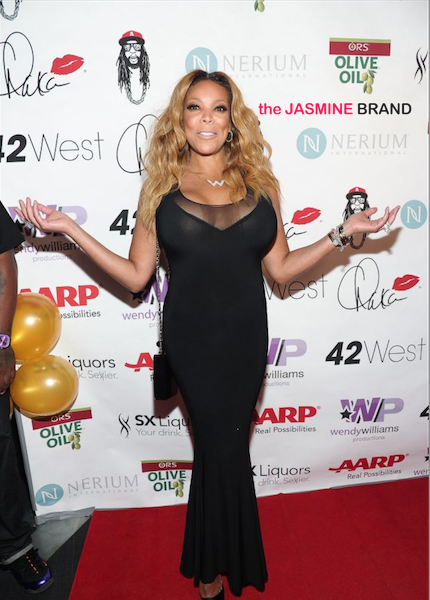 [Photos] Wendy Williams 50th Birthday Bash Draws Chaka Khan, Sherri Shepherd & Her Own Street