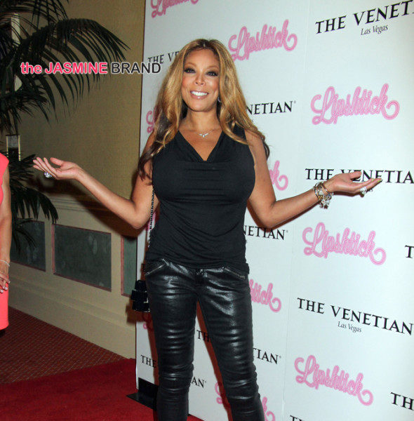Yikes! Wendy Williams Falls Off Stage [VIDEO]
